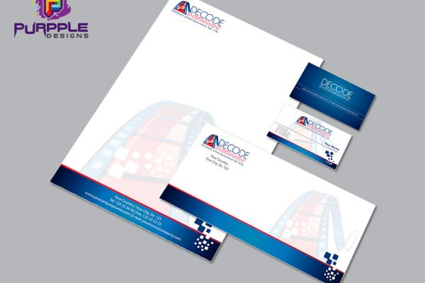 Decode Entertainment Corporate Identity